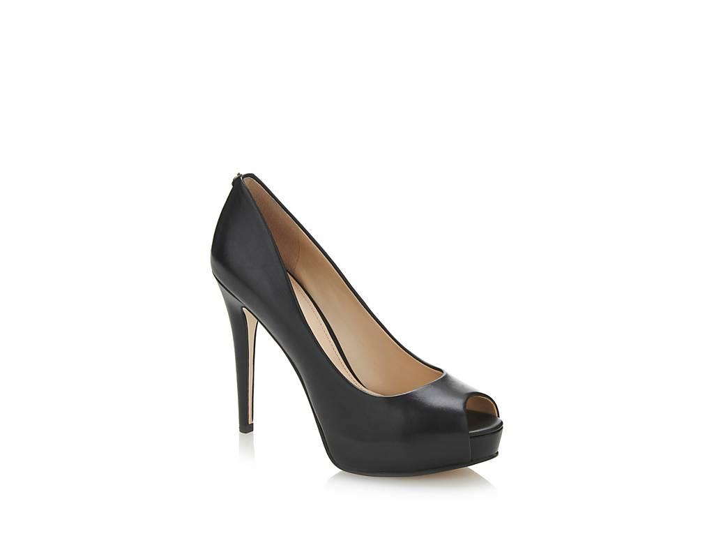 Guess Zapato Con Punta Abierta Haddie Piel Nueva llegada Compre barato por debajo de $ 60 23qTZmnx
