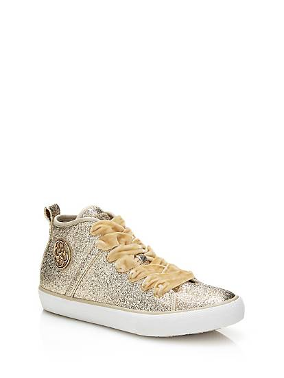Guess SNEAKER JOEL PAILLETTES Gold i8KLGM