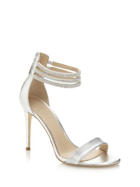 Sandale kathy effet metallise