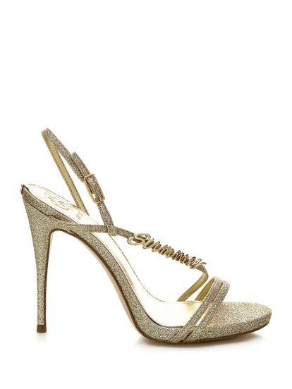 FL SHOES Sandalo Glitterato (39)