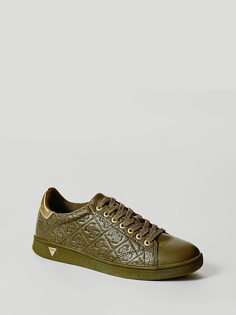 SUPER SNEAKER WITH EMBOSSED LOGO  f26ccd1826b
