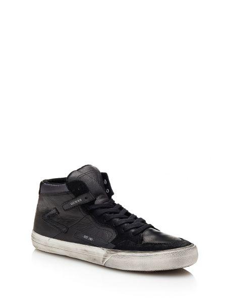 Sneaker montante rg2 en cuir