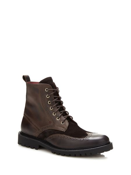 Bottines truman en daim