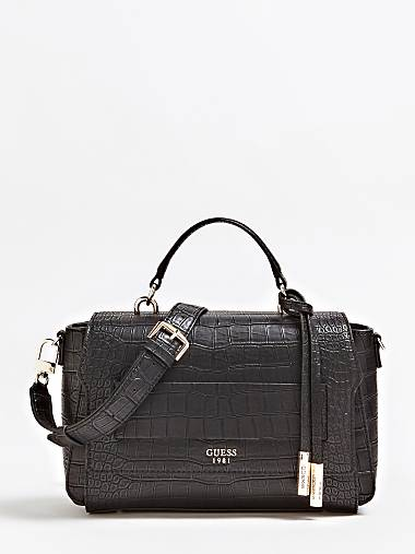 Moritz Croc Print Bag