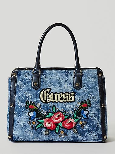 Badlands Embroidered Denim Bag