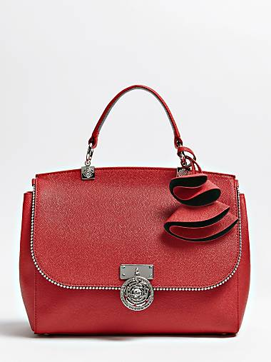 Glory Leather Bag With Studs
