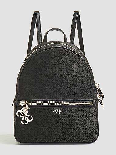 URBAN CHIC LARGE LOGO PRINT BACKPACK a3a3577f50a