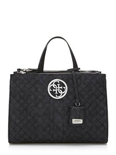 G Lux Python Print Handbag