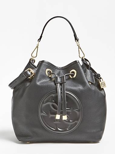 5338a55d8e MEGAN LOGO BUCKET BAG