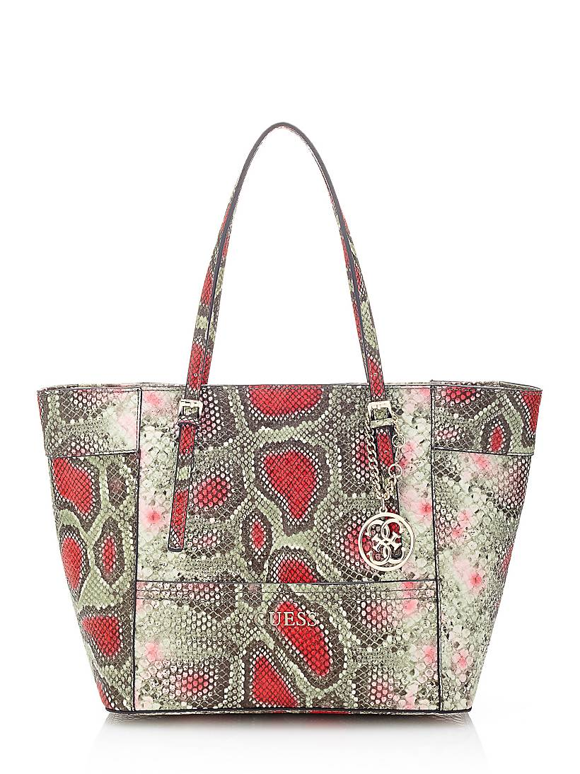 Delaney Small Bag With Tropical Animal Print