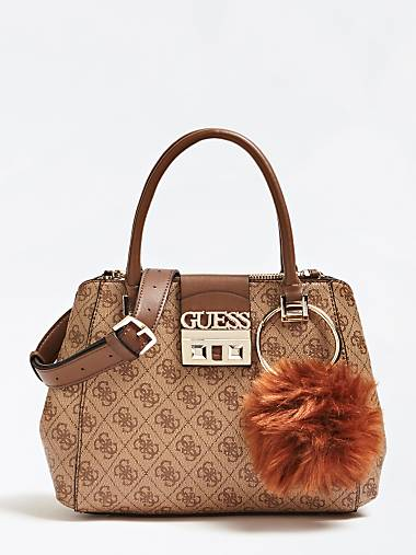Luxe Logo Bag With Charm