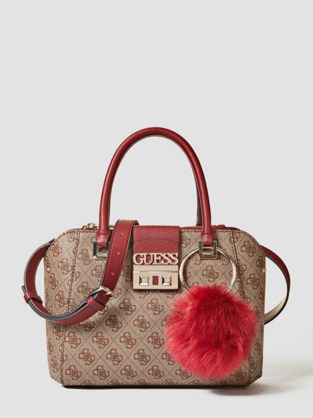Luxe Logo Handbag by Guess