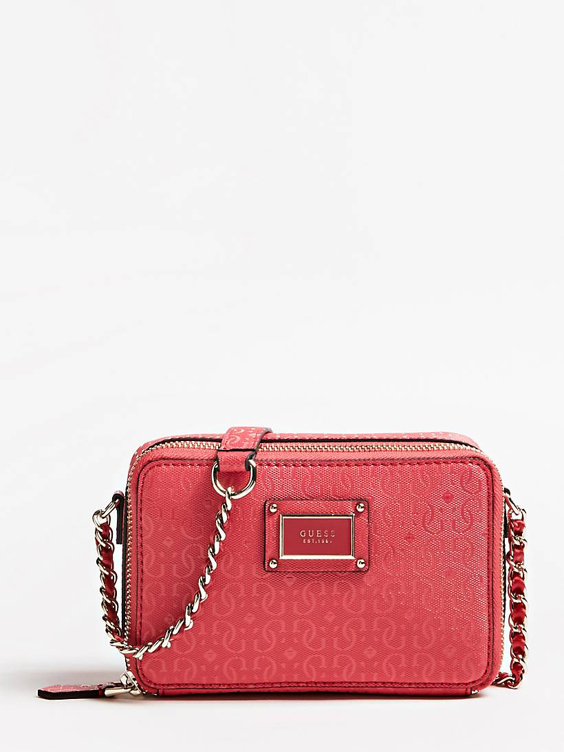 e360364995 SHANNON LOGO PRINT MINI CROSSBODY