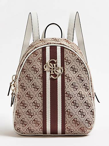 0956301d411d GUESS VINTAGE LOGO PRINT BACKPACK