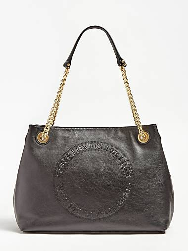 5c49c57b7c SOLANGE REAL LEATHER SHOULDER BAG