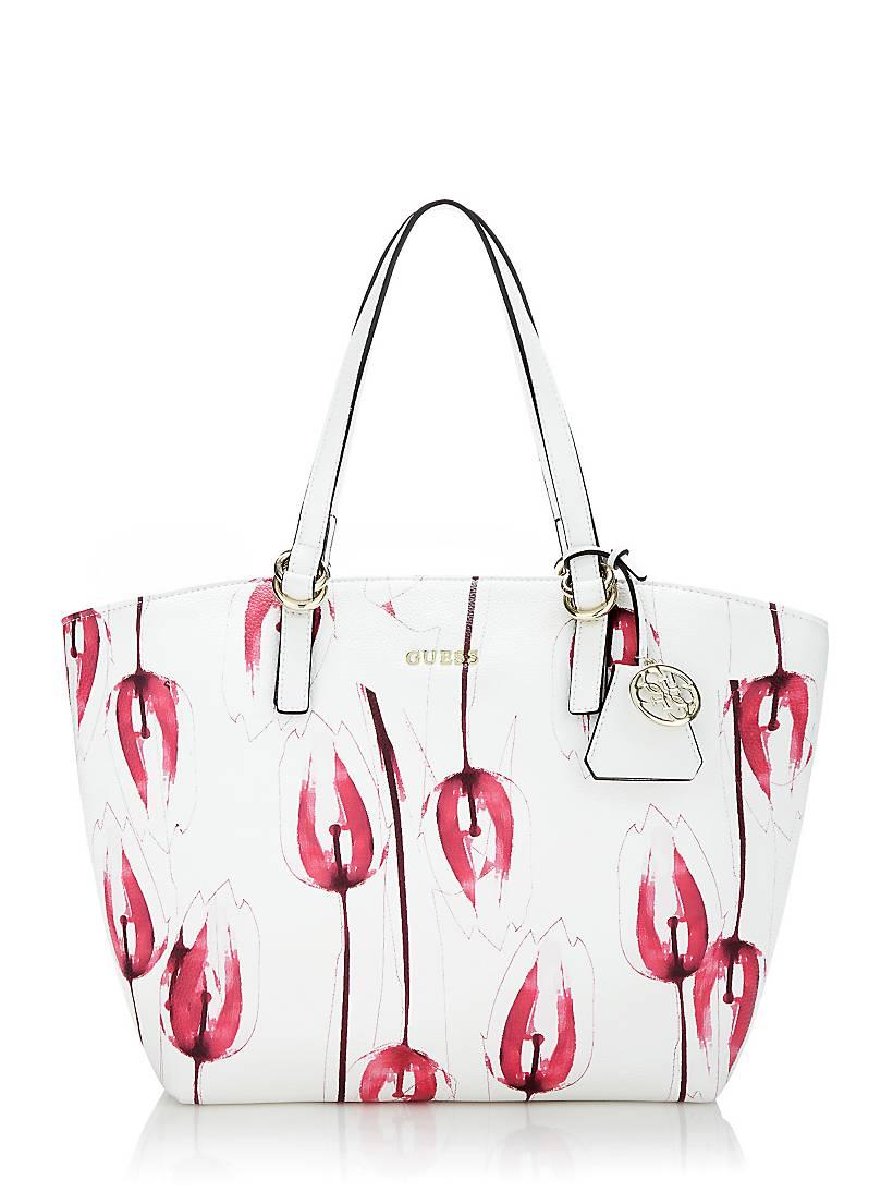 FloresGuess De Con eu Bolso Tulip Estampado CoedBrx