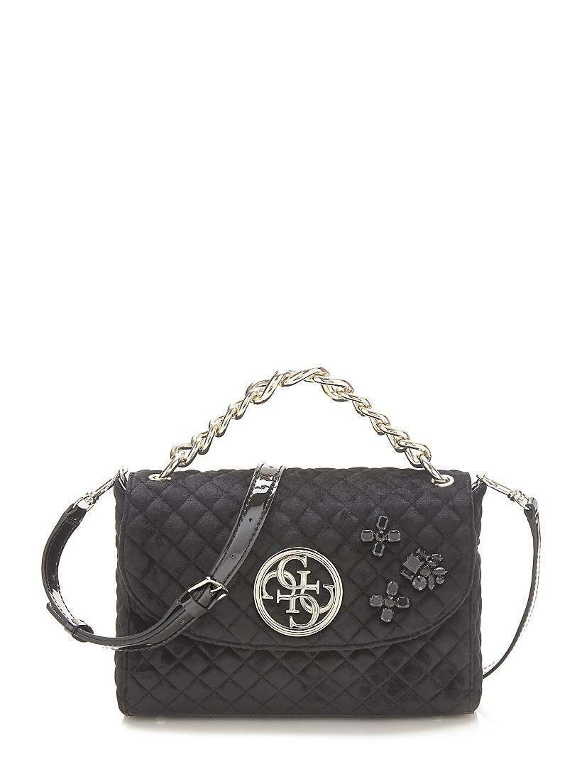 df76e2691717 G LUX QUILTED-LOOK CROSSBODY BAG | GUESS.eu