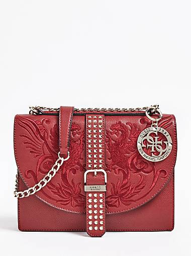 a525f04304df EILEEN CROSSBODY BAG EMBROIDERED WITH STUDS