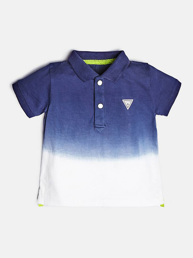 4f4873169 POLO SHIRT WITH LOGO ON THE BACK