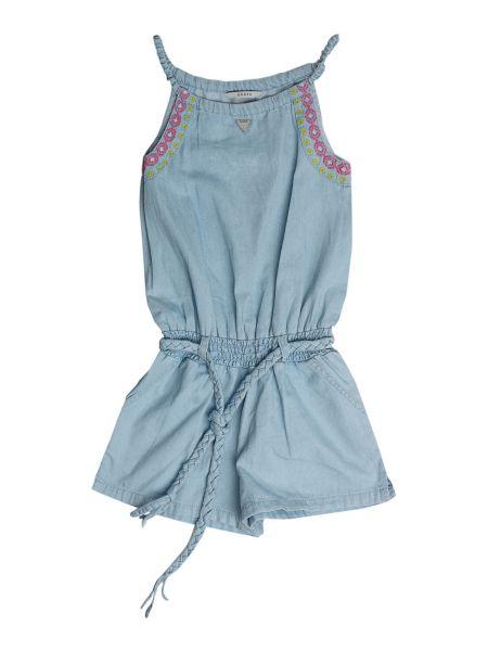 Combinaison courte en jean