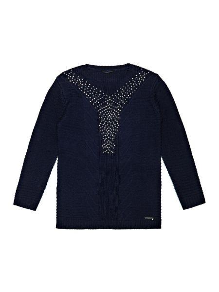 Robe en laine mélangée À paillettes