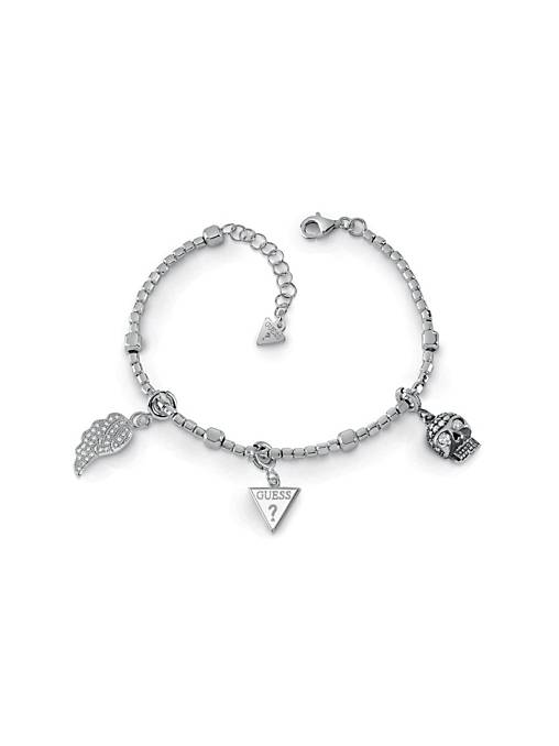 """""""guess-yourself""""-silver-925-bracelet by guess"""