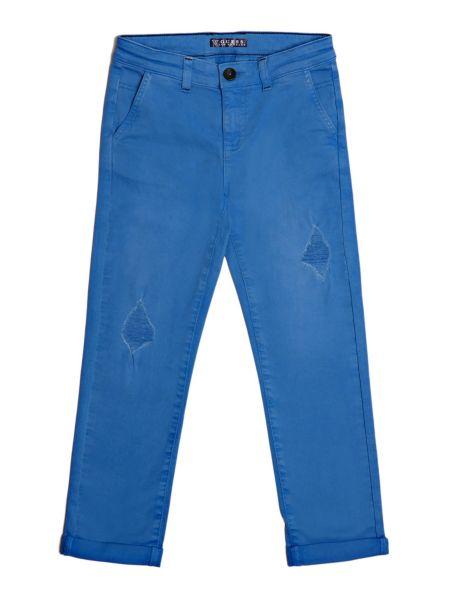 Pantalon chino abrasions