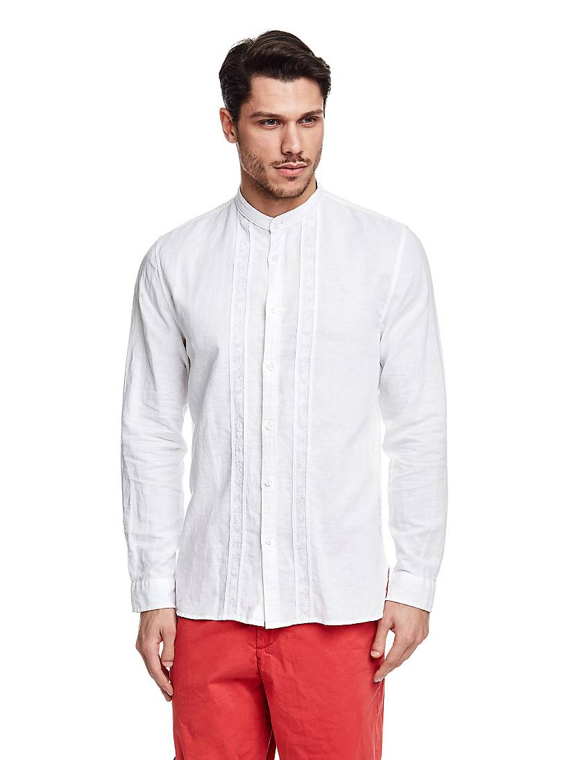 cheap for discount 4b29c 66159 Camicia di Lino | GUESS.eu