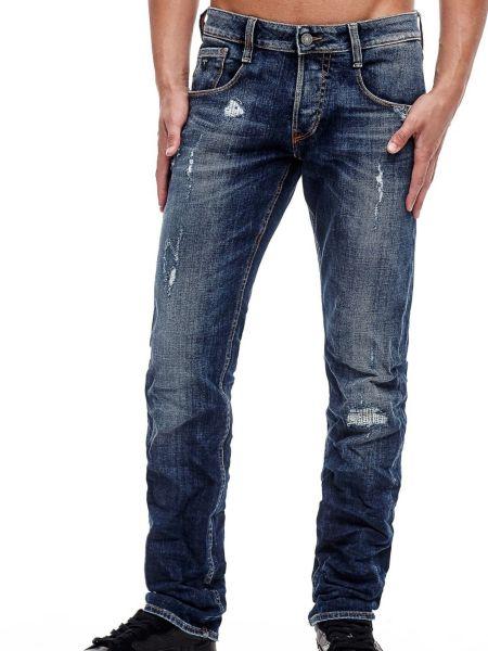 Jean slim abrasions