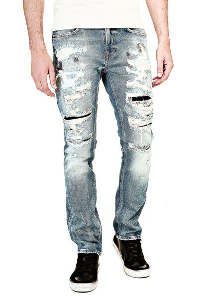 Jean skinny dechirures