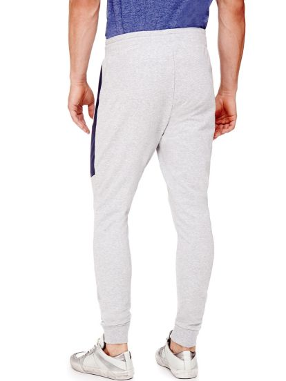 Guess Pantalon Raye En Molleton De Coton