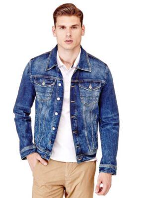 Veste classique en jean