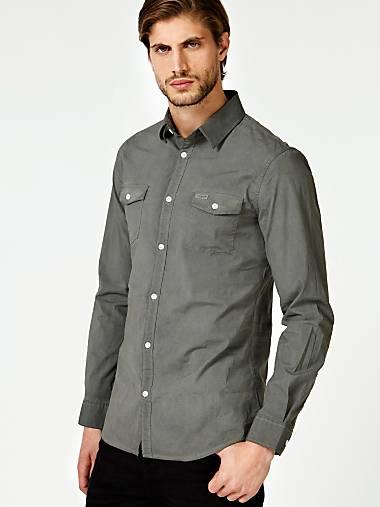 Guess Site Homme Chemises Officiel Pour PqfTWwB8HA