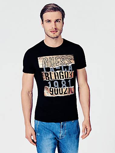 Men s T Shirts   GUESS Official Online Store 94d72311e8