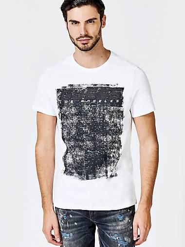T-shirt pour homme   GUESS Site officiel 9b50fb988ff