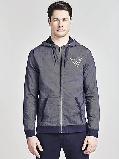 11366c1e1 Men's Sweatshirts & Hoodies | GUESS Official Online Store