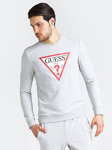 Pour Site HommeGuess Sweat Shirts Officiel N8nmv0wO