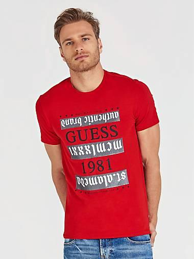 a47bc457 Camisetas de Hombre | GUESS Web Oficial