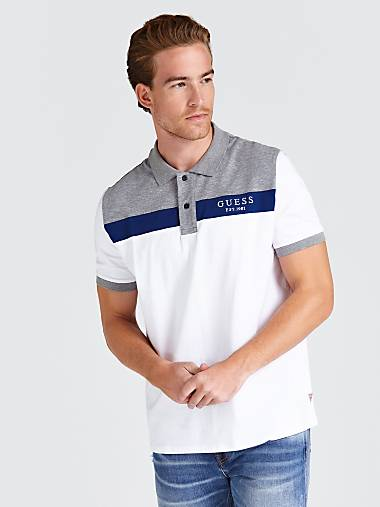fd52f764e COLOUR-BLOCK LOGO POLO