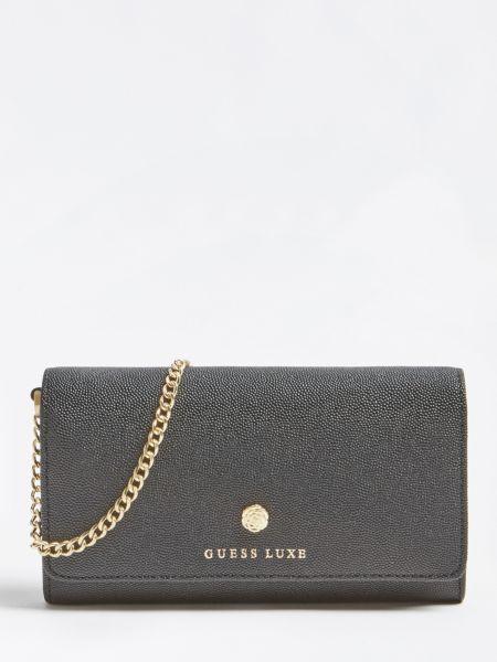 GUESS Portemonnaie Guess Luxe Leder