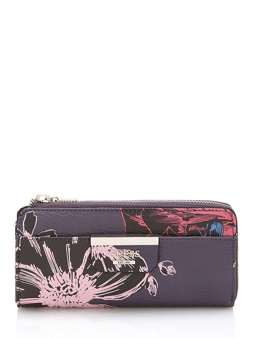 bf9eb346c246 Guess Wallet Floral Print