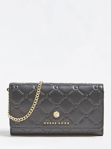a665b1f1a8d GUESS LUXE REAL LEATHER WALLET