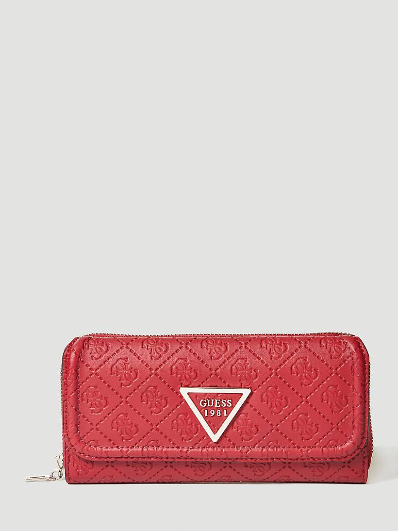 LYRA EMBOSSED LOGO WALLET  8cd43b6397