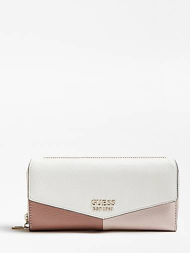 COLETTE HAMMERED-LOOK WALLET