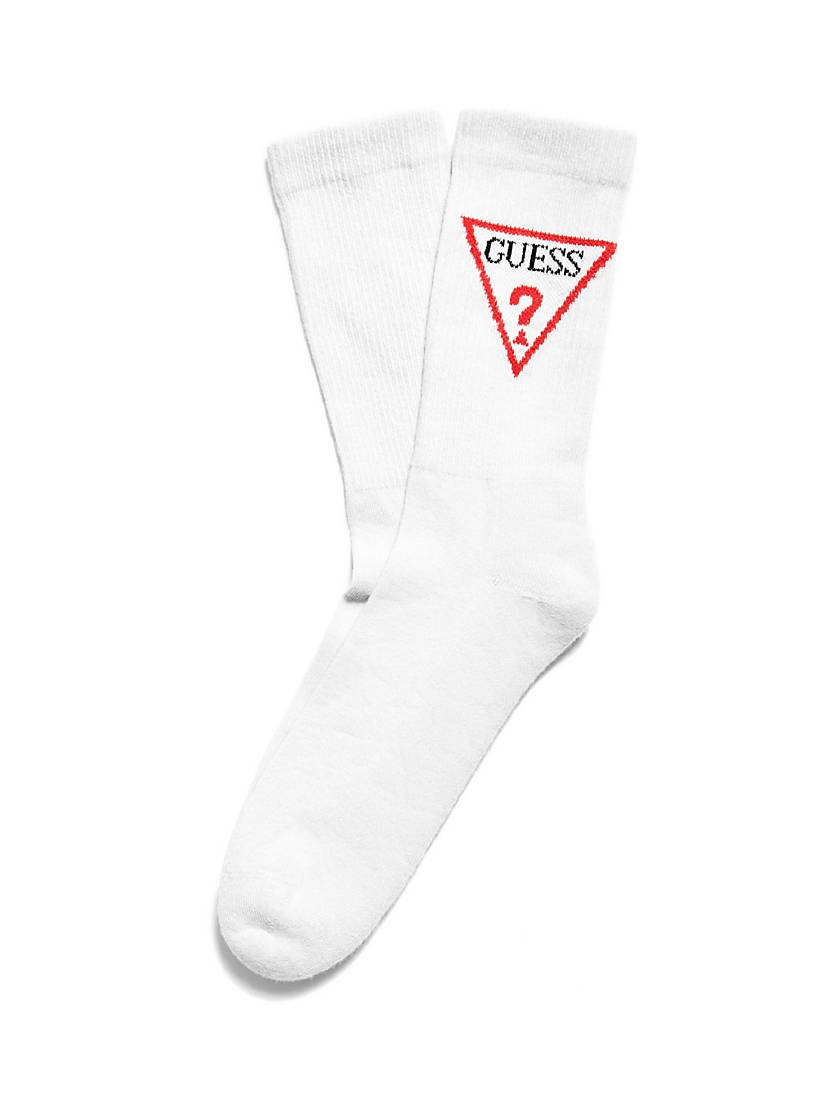 triangle logo socks guess eu