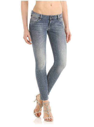 Beverly Medium Used Jeans Guess offerta