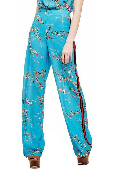 Pantalon fluide fleurs