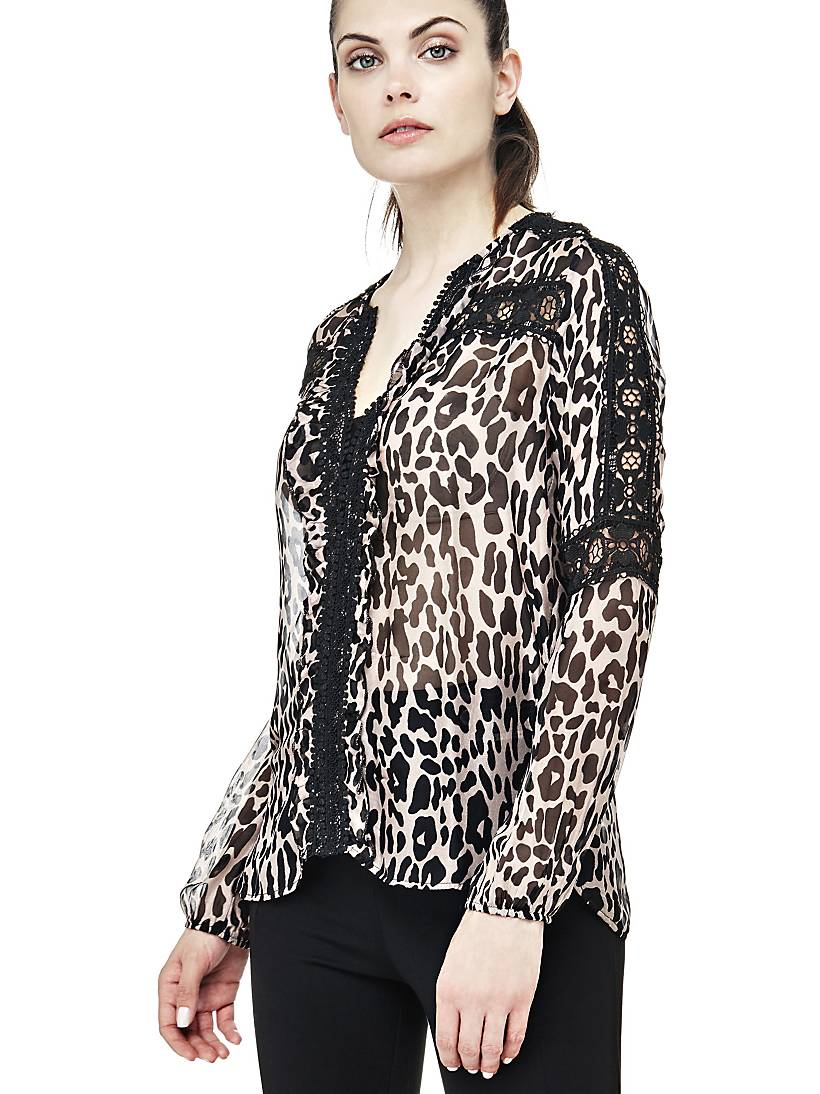 huge selection of 6571b 5472c CAMICIA STAMPA ANIMALIER | GUESS.eu