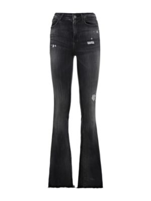 Guess high waisted flare jeans