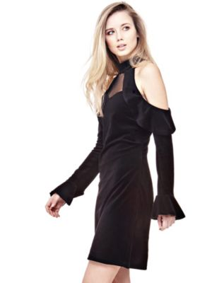 Kleid guess rot